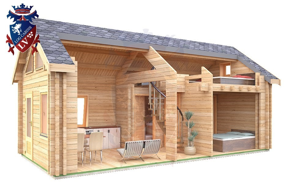 Insulated Micro Log Cabins