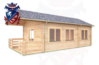 Residential Log Cabins Range