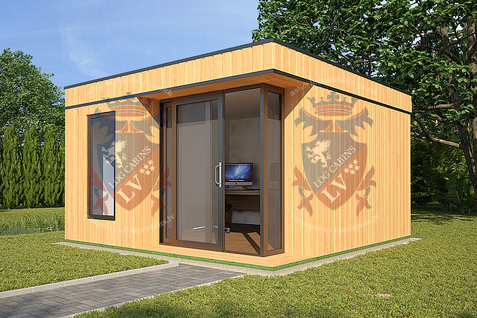 Fully Insulated  Garden Office