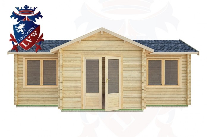 Log Cabins Barnham 7.0m x 5.0m -2120 1