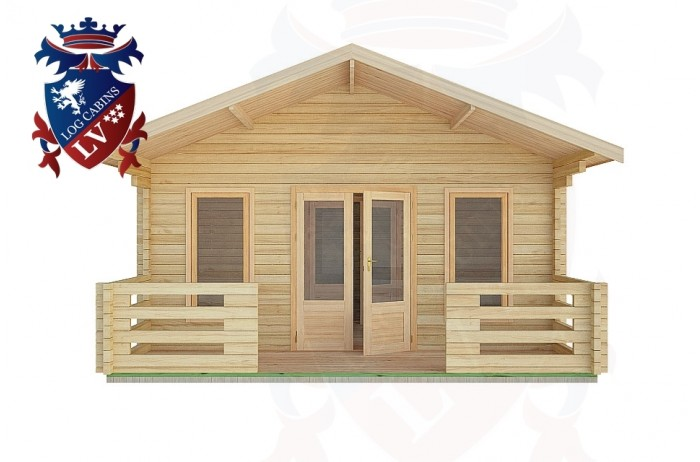 Log Cabins Bolney 5.0m x 7.0m -2097 1