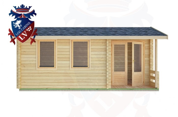 Log Cabins Langley 5.5m x 3.5m -2114 1