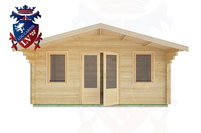 Log Cabins Fishersgate 5.0m x 4.0m -2109 1