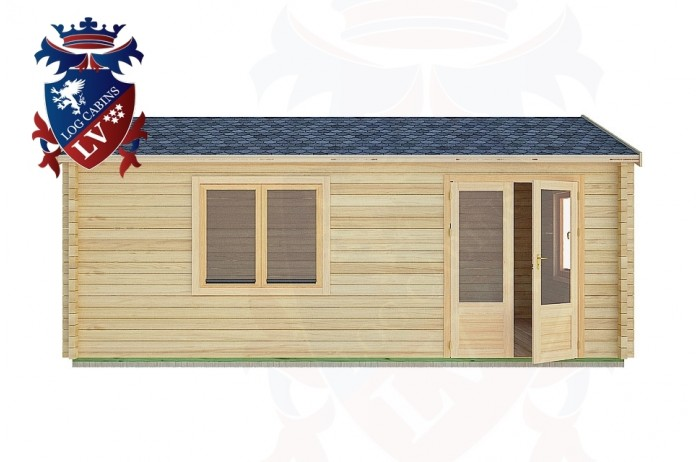 Log Cabins Cocking 6.0m x 4.0m -2119 1