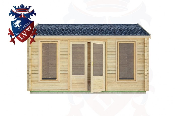 Log Cabins Houghton 4.5m x 3.5m -2075 1
