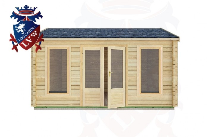 Log Cabins Sullington 4.5m x 4.5m -2077 1