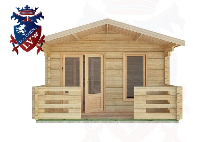 Log Cabins Three Bridges 4.0m x8.0m -2049