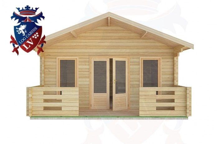 Log Cabins Cootham 5.0m x 5.0m -2094  1