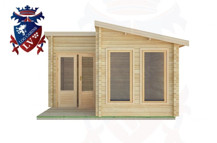 Log Cabins East Preston 4.0m x4.0m -2054 1