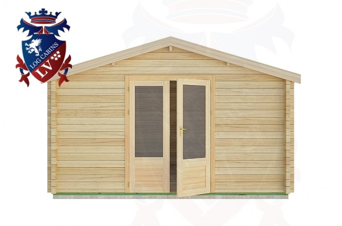 Log Cabins Midhurst 4.0m x4.0m -2059 1