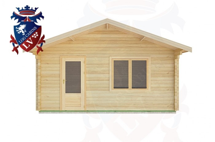 Log Cabins East Lavington 5.0m x 5.0m -2106 1