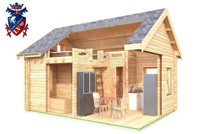 Log Cabin Norton 4.0m x 5.7m - 625 8
