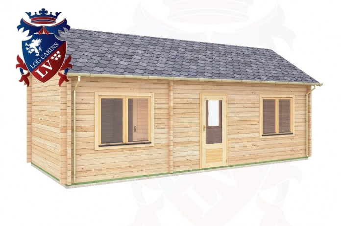 Log Cabins Barcombe 7.8m x 3.5m - 304 2