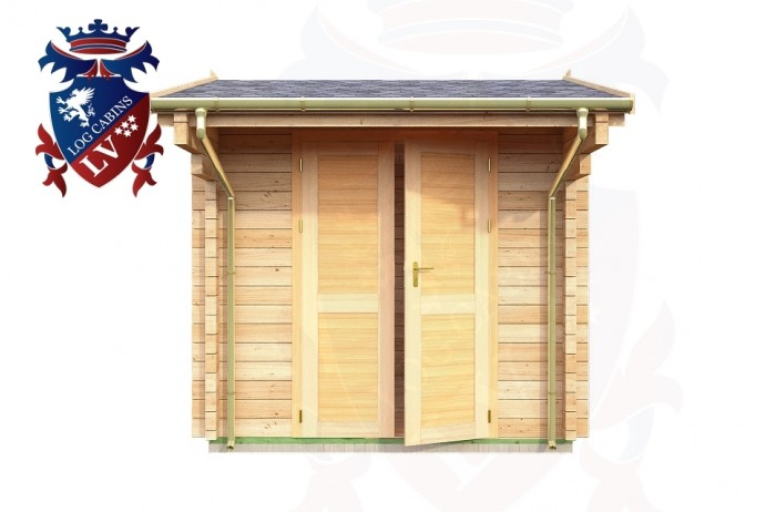 Log Cabins Langney 2.35m x 2.95m - 038 1