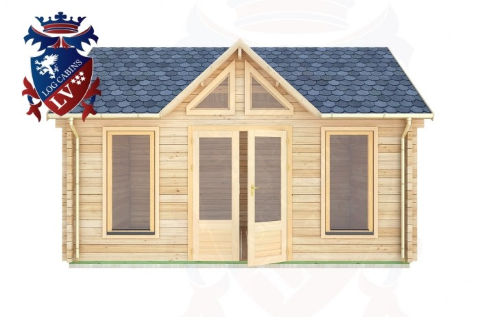Log Cabins Forest Row 5.0m x 4.0m - 057 1