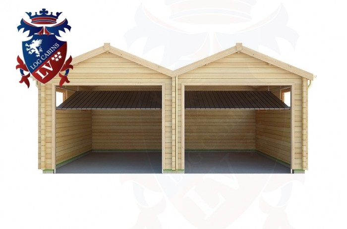 Log Cabins Norton 6.0m x 5.0m - 164 1