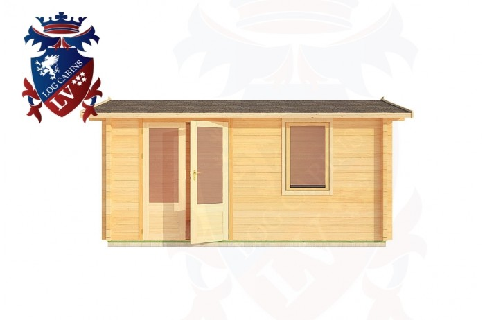Log Cabins Ore Valley 4.0m x 3.0m - 178 1