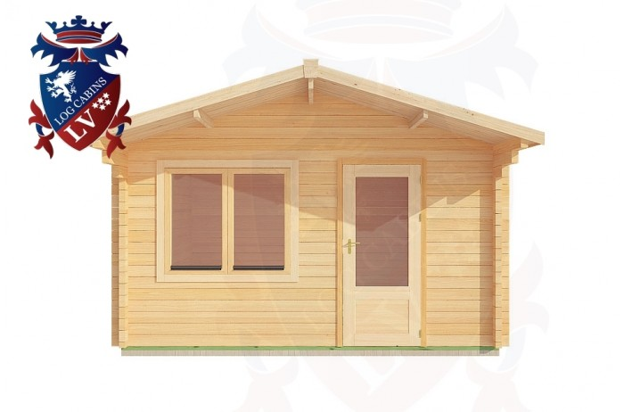 Log Cabins Jenkins' Green 4.0m x 5.0m - 185 1