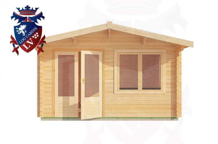 Log Cabins Boars Head 4.0m x 4.0m - 194 1
