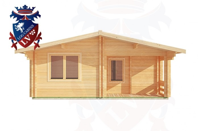 Log Cabins Crowborough 6.0m x 7.0m - 200 1