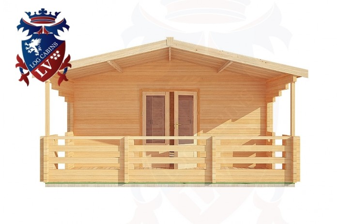Log Cabins Sidley 5.0m x 10.0m - 202 1