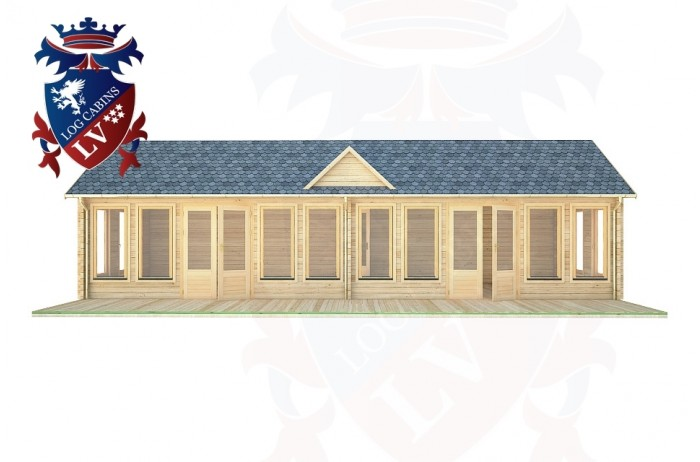 Log Cabins Peacehaven 11.0m x 4.0m - 291 1