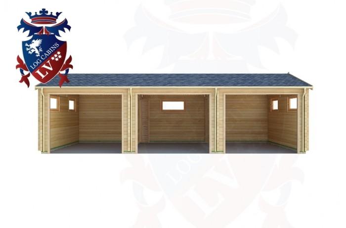 Log Cabins Southease 9.0m x 5.0m - 301 1
