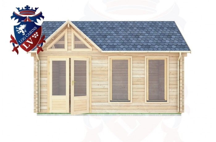 Log Cabins Newick 5.0m x 3.5m - 411 1