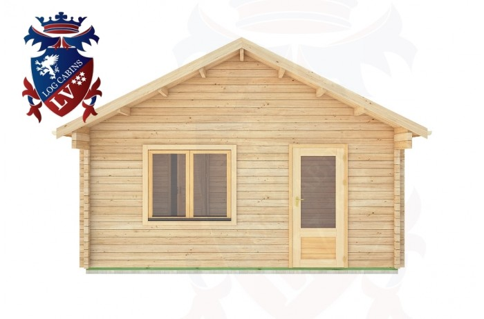 Log Cabins Hill Brow 5.0m x 5.0m -319 1