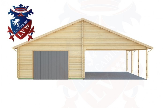 Log Cabins Birling Gap 5.7m x 9.0m - 440 1