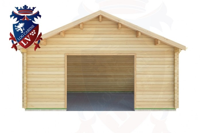 Log Cabins Eastbourne 5.7m x 5.7m - 525 1