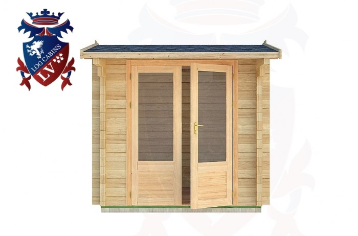 Log Cabins East Guldeford 2.5m x 2.5m - 01 1