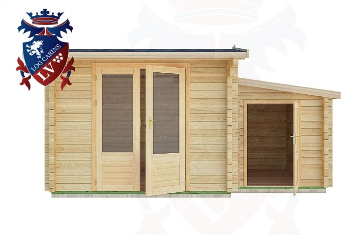 Log Cabins Bodiam 4.5m x 3.0m - 16 1