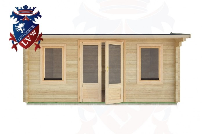Log Cabins Friday Street 5.0m x 4.0m - 24 1