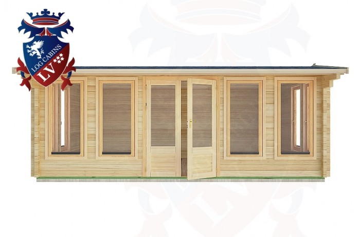 Log Cabins Tewes 5.9m x 4.0m - 29 1