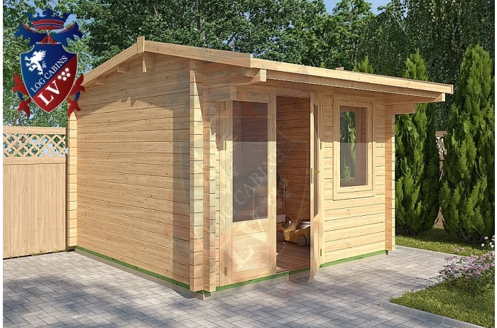 Log Cabins Eartham 3m x 3m - 116 2
