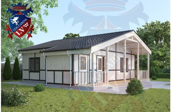 Residential Cabins Exceat 9.0m x 9.5m 698 4
