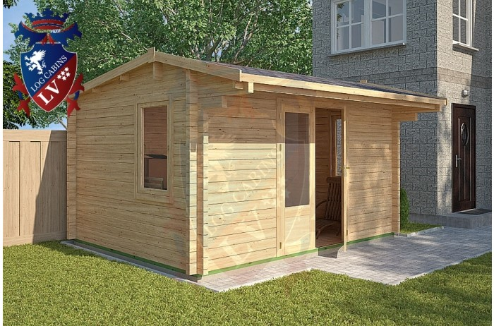 Log Cabins Fairlight 4m x 3m - 117 2