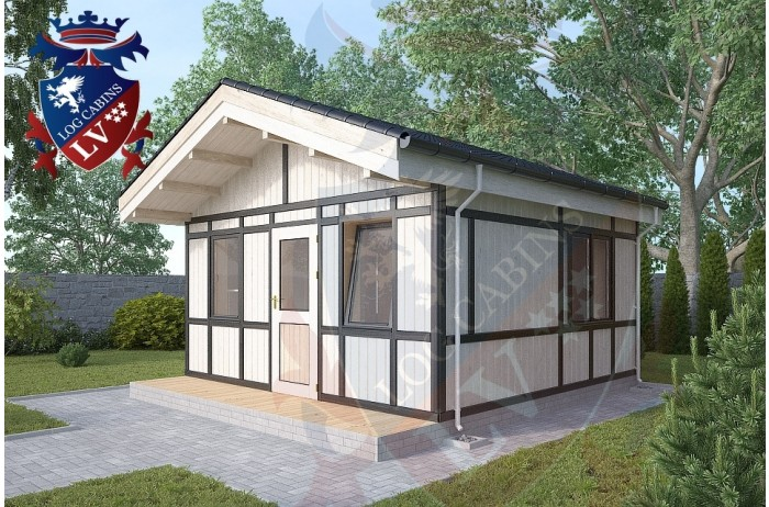 Residential Cabins Fairlight 4.5m x 4.5m 679 4