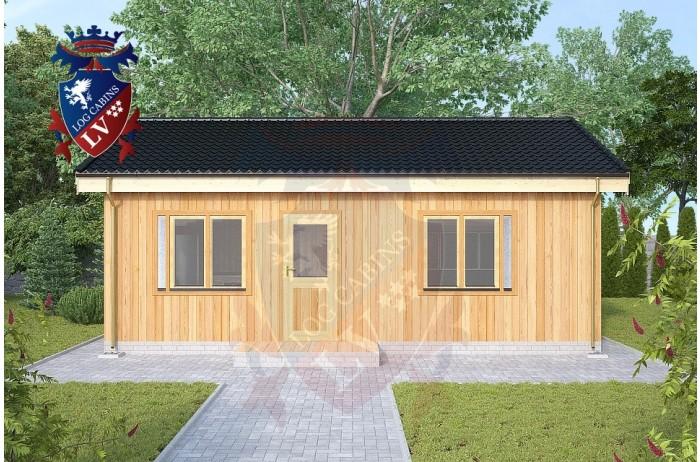 Residential Cabins Faversham 7.5m x 5m 716 4