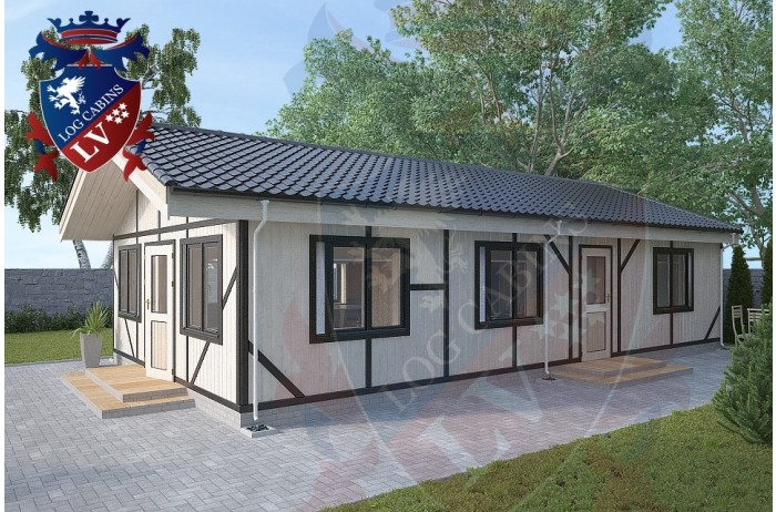 Residential Cabins Firle 6.0m x 11.0m 699 3
