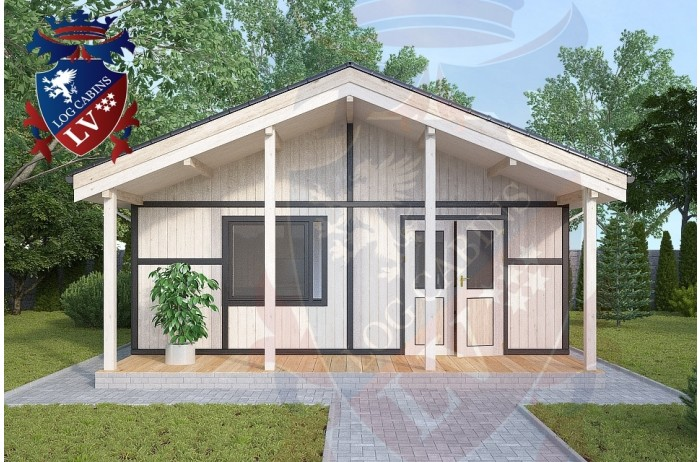 Residential Cabins Gatwick 6.2m x 9.0m 680 3