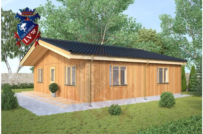 Residential Cabins Gravesend 8.5m x 8.5m 731 4