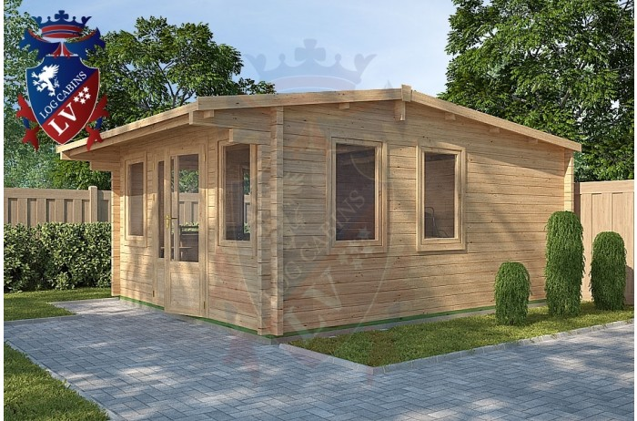 Log Cabins Hailsham 4m x 5m - 118 2