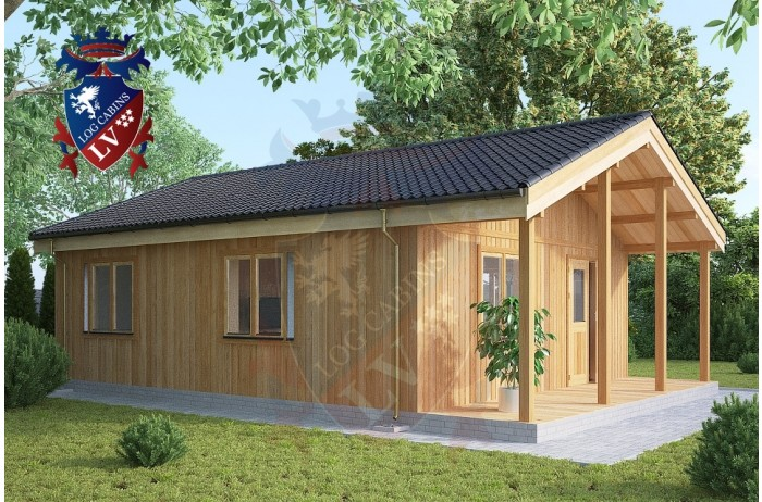 Residential Cabins Hamstreet 6.2m x 9m 718 3