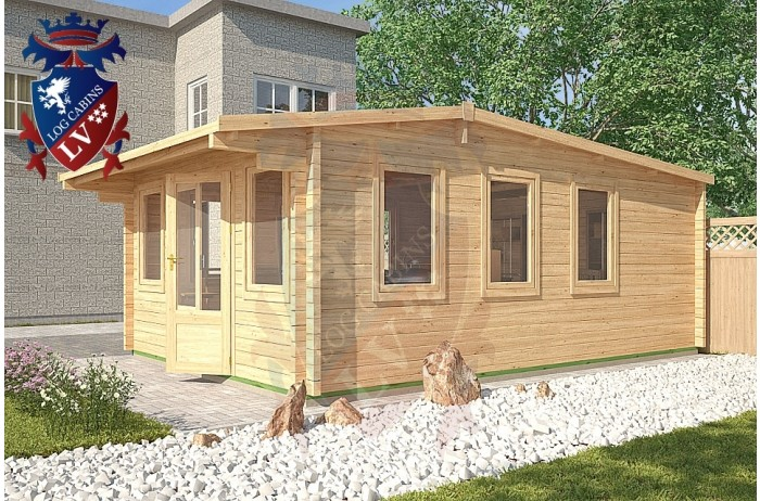 Log Cabins Iden KL 4m x 5.8m - 120 1