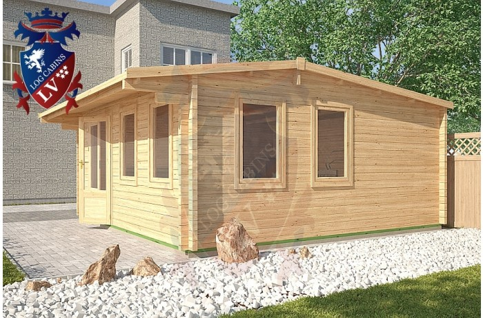 Log Cabins Kingston 5m x 5m - 122 4