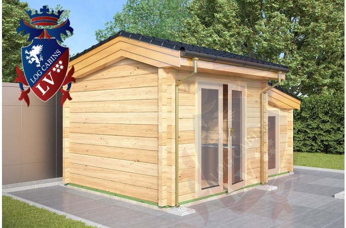 Log Cabins Lidsing 3.0m x 3.0m 777 1