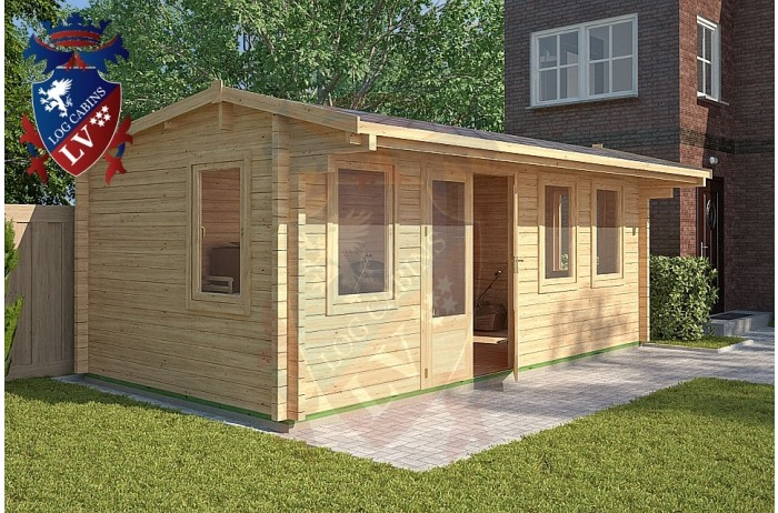 Log Cabins Maplehurst 5.8m x 3m - 124 4