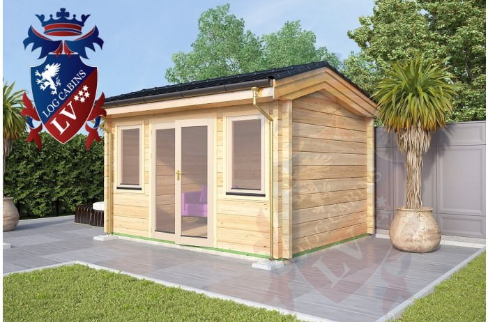 Log Cabins Newbarn 4.0m x 3.0m 772 2